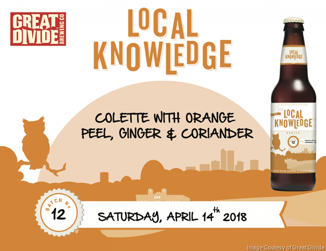 Great Divide Releasing Local Knowledge Colette Variation 4/14