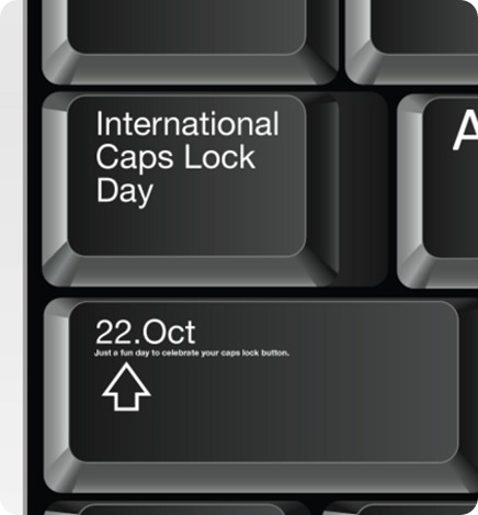 CAPS LOCK DAY