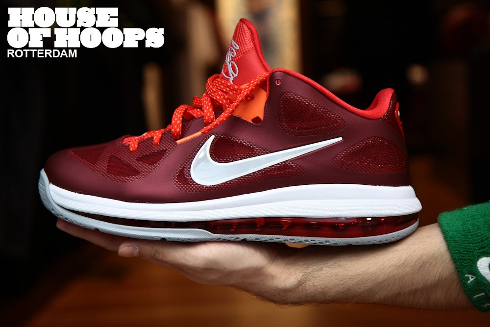 finest selection 38ac2 ca351 Another Look at Recently Released Nike LeBron 9 Low 8220Team Red8221 ...