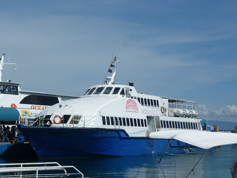 Embarquement pour Siquijor via Dumaguete (Negros)