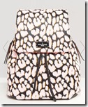 Pauls Boutique neon leopard backpack
