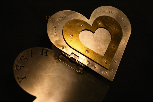 metal, valentine, diy, handmade, waterjet, firefly express, pollyannacowgirl, nick foster, design, metalwork