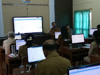 Pelatihan E Kinerja Dilingkungan Dinas KominfoSanti Kab Buleleng