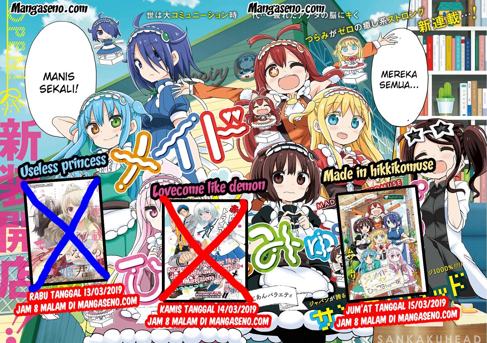 Baca Manga Lovecome Like A Demon Chapter 14 Komik Station