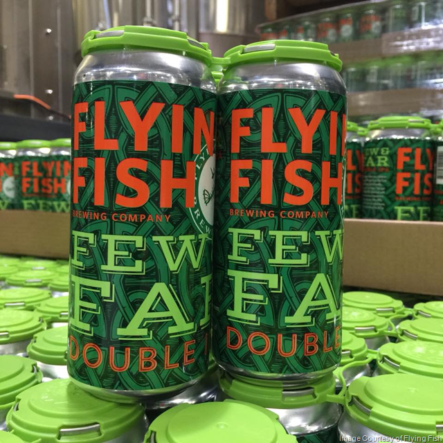 Flying Fish Releasing Few & Far Double IPA Cans