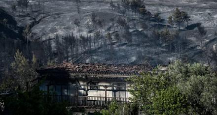 Τεράστια οικολογική καταστροφή στα Γεράνεια Όρη - Αποκαρδιωτικές εικόνες (βίντεο)