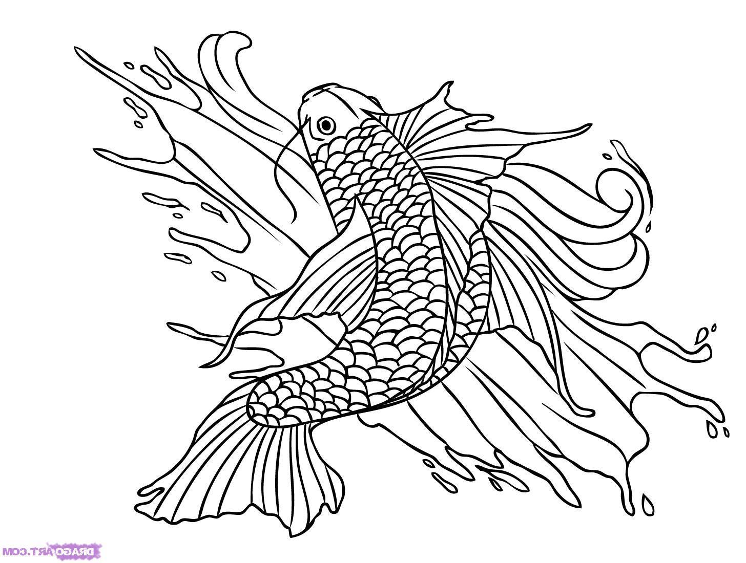 Pin Koi Fish Tattoos Black And White Cake