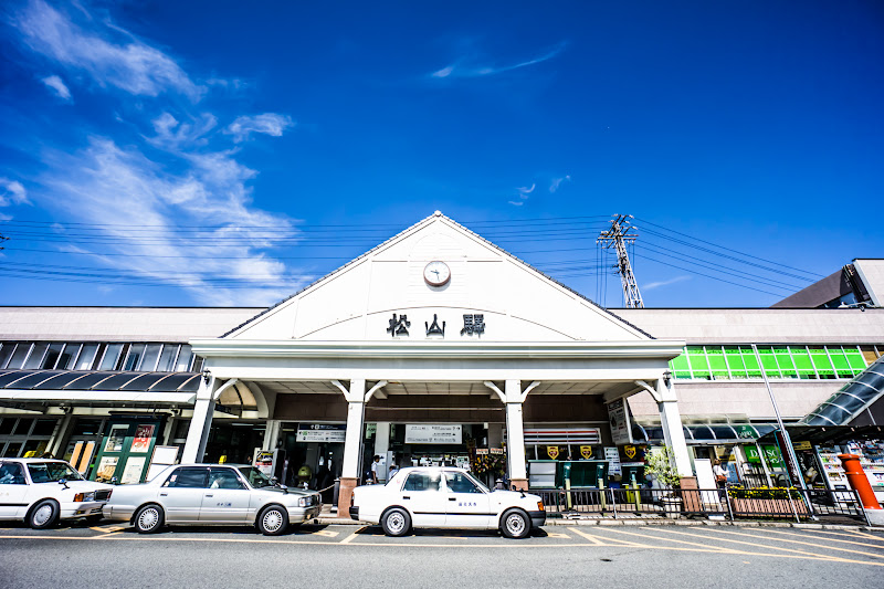 JR Matsuyama station 1