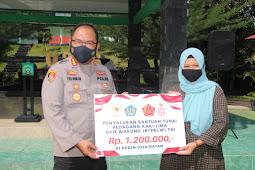 Kapolresta Barelang Hadiri Launching BTPKLW Di wilayah Kodim 0136 Kota Batam