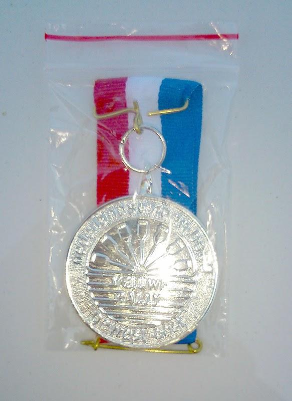 Felbegeerde medaille