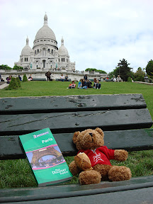 The Bear visiting Basilique du Sacre-Coeur