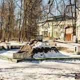 Ясногорск. Фонтан возле ДК. Раньше здесь были алюминиевые статуи, которые потом предприимчивые люди сдали на цветмет