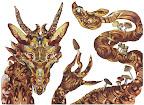 Mushrooms Dragon