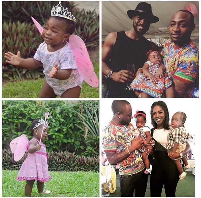 pictures from birthday party of davido daughter Imade
