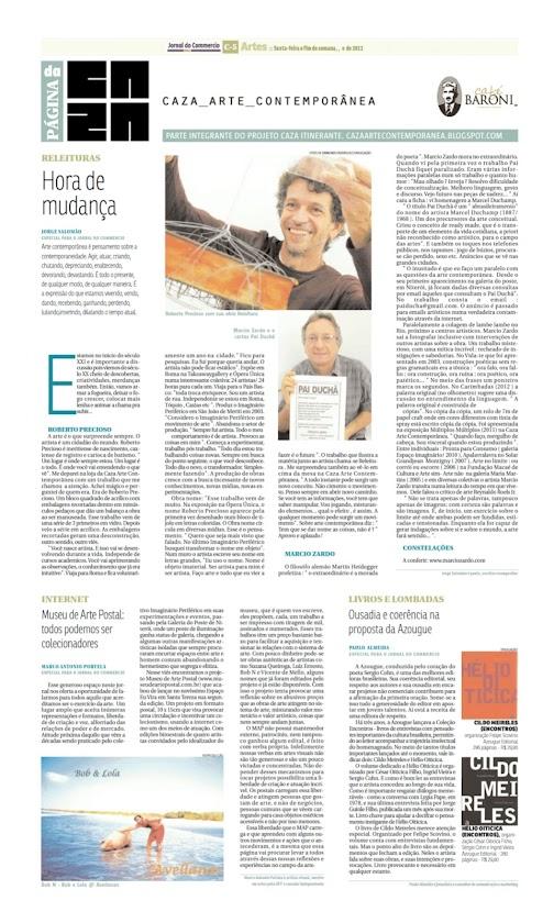 Página da Caza - 13 de Abril de 2012