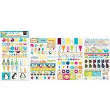 BoBunny Clear Stickers - Make A Splash UTGÅENDE