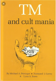 TM and Cult Mania is a non-fiction book that examines assertions made by the Transcendental Meditation movement.