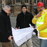Fő tér munkaterület átadás - 2009.12.14