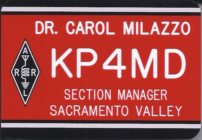 ARRL Sacramento Valley Section