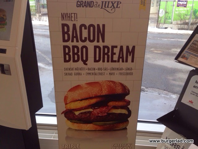 Max Burgers Bacon BBQ Dream