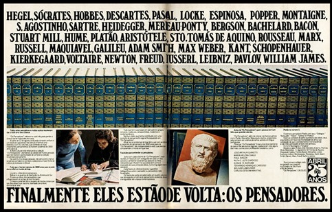 anuncio Editora Abril - 1975