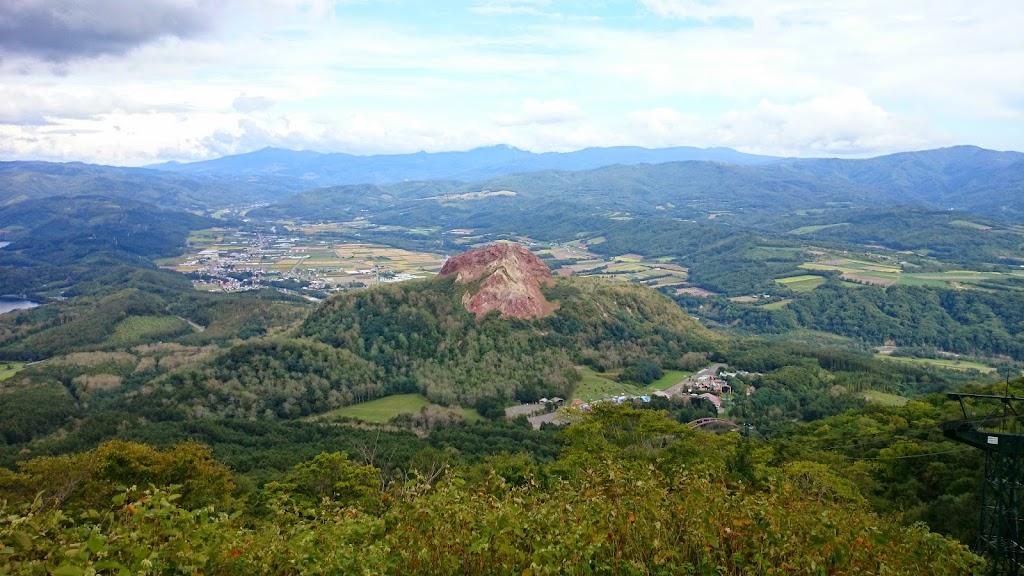 有栖山から昭和新山の景色の写真1