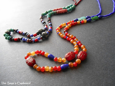 Nile Necklace from Ancient Worlds Modern Beads