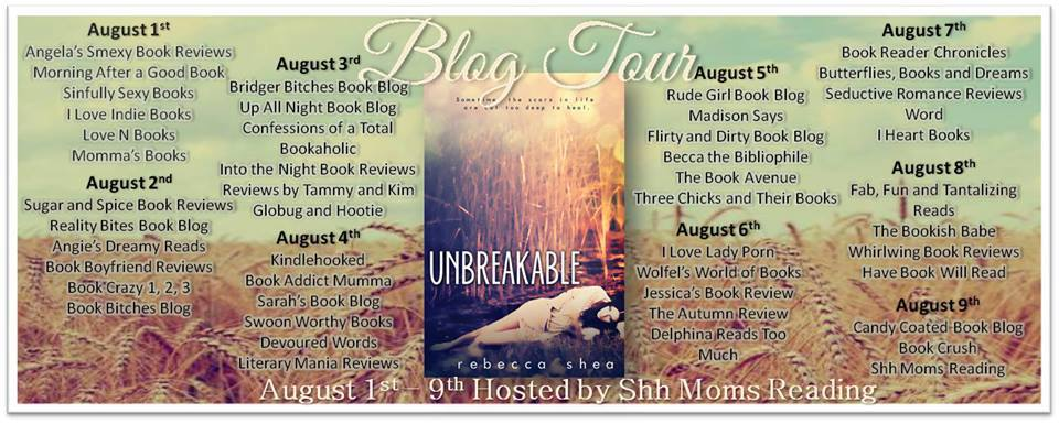 Tour Review: UNBREAKABLE by Rebecca Shea