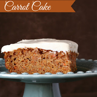 Carrot Cake {Gluten-free}
