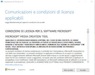 MCT - Accettazione licenza