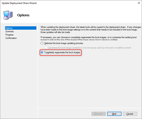 How to allow MDT 2013 to use WIM file bigger than 4 GB on an UEFI