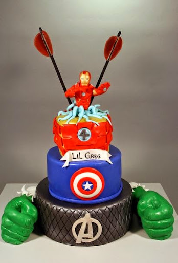 Ant Man Cake Design : 50 Best Avengers Birthday Cakes Ideas And Designs ...