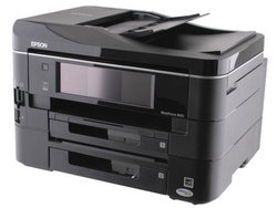 How to reset flashing lights for Epson PX-673F printer