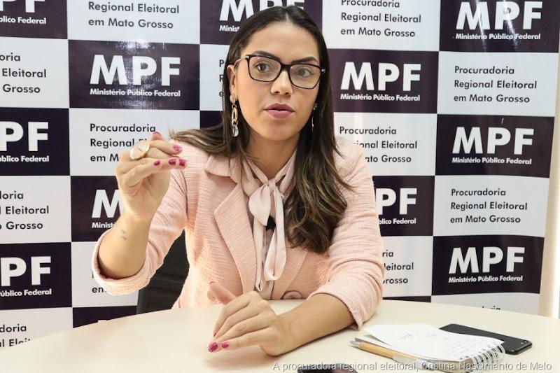 A procuradora regional eleitoral, Cristina Nascimento de Melo