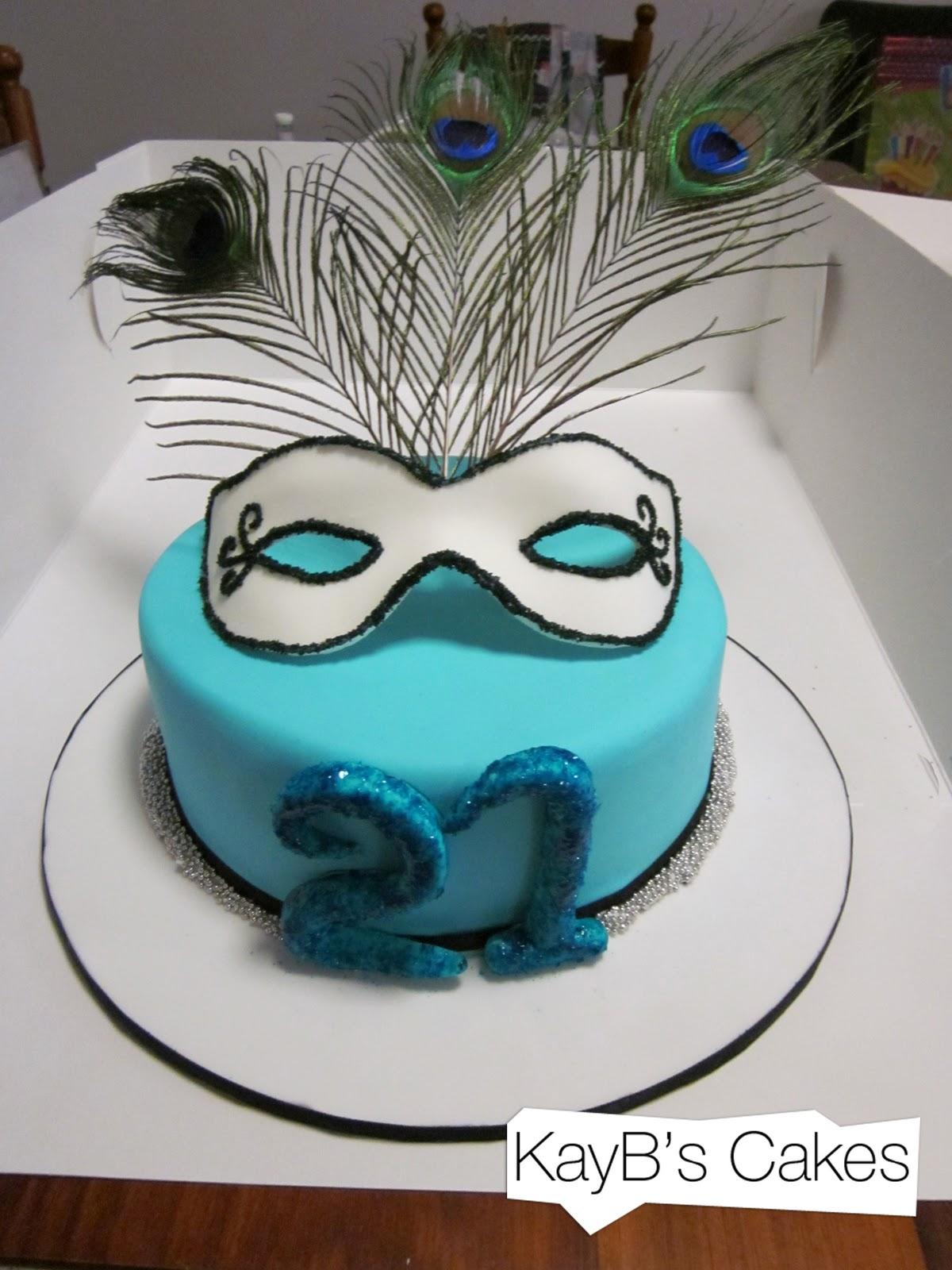 Peacock Birthday Cake Ideas