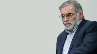 اغتيال محسن زادة العالم النووي الإيراني  في طهران
