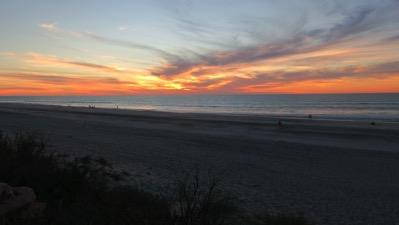 80 Mile Sunset