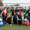 Mary at the Doncaster Rovers/Onemda soccer clinic