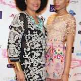 WWW.ENTSIMAGES.COM -    Models of Diversity -  Barbra Wilson and Natalie Nwagbo   at     Charity catwalk show at Wear it for Autism - Millennium Hotel London Knightsbridge, London October 6th 2014Charity fashion show to celebrate families and individuals affected by autism.                                                 Photo Mobis Photos/OIC 0203 174 1069