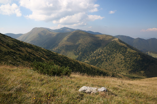 Hlavný hrebeň Malej Fatry zo Stohu
