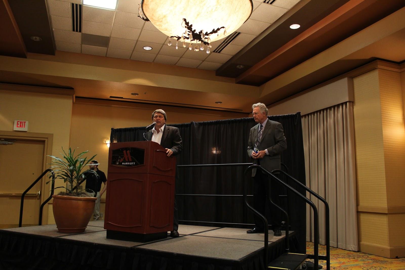 Congratulations to Bill Assenmacher on receiving the Sonoran Spirit award!