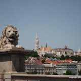 Chain Bridge Lion and St. Matthias