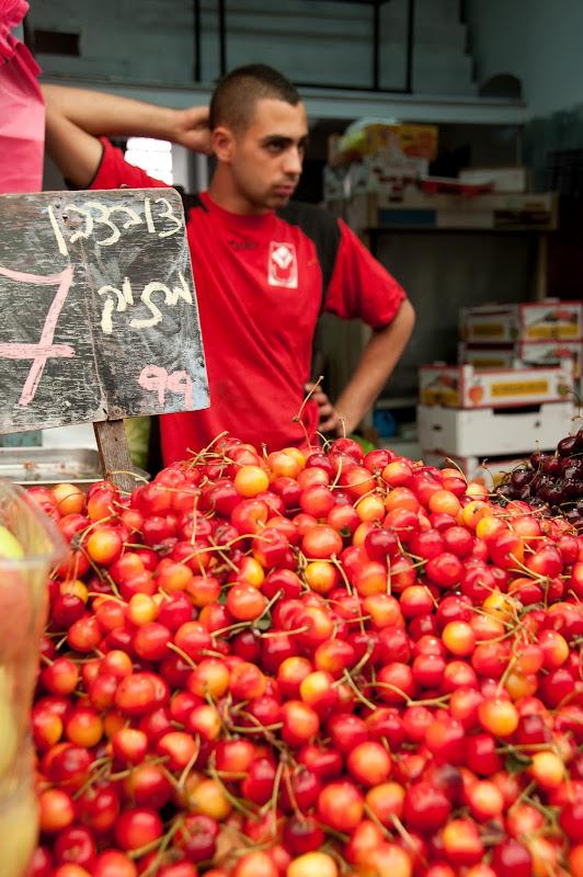 cherries, mahane yehuda