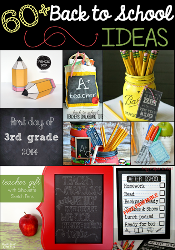 60  Back to School Ideas at GingerSnapCrafts.com #linkparty #features #backtoschool_thumb[3]