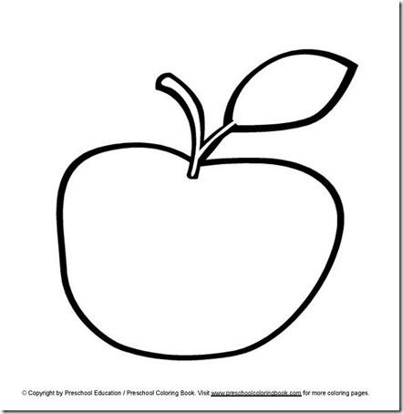 Dibujos De Manzanas Para Colorear Mas Dibujos