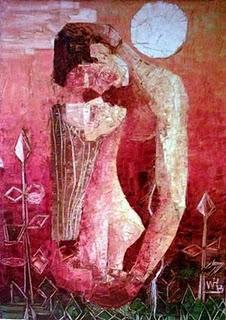 Lienzo del pintor Rodolfo Barral