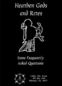 Cover of The Troth's Book Heathen Gods and Rites Some Frequently Asked Questions