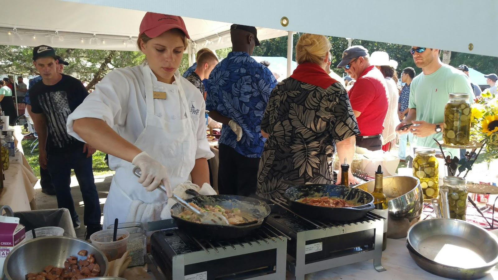 Jekyll Island Club Hotel Shrimp and Grits Festival 2015