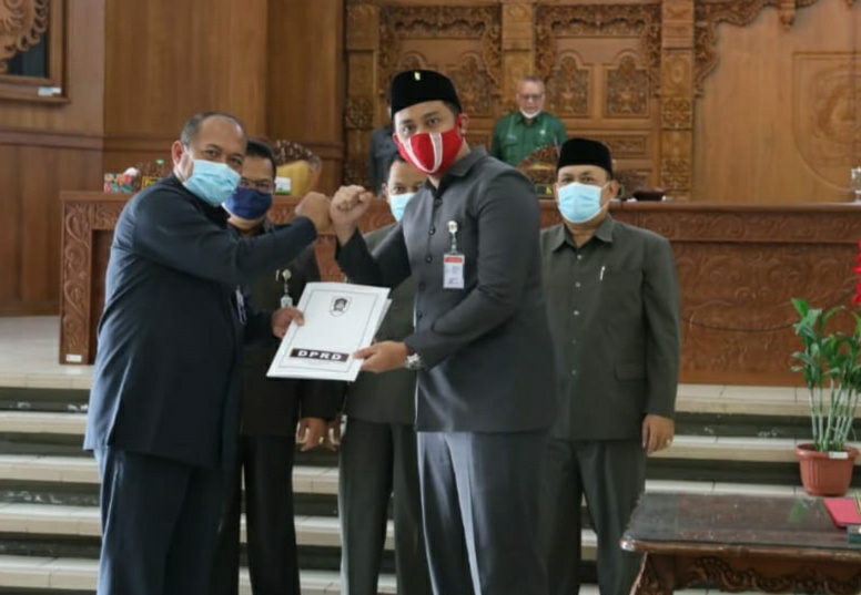 Disetujui 7 Fraksi DPRD, APBD Klaten 2021 Klaten Disahkan