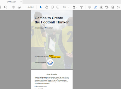 Games to Create the Football Thinker